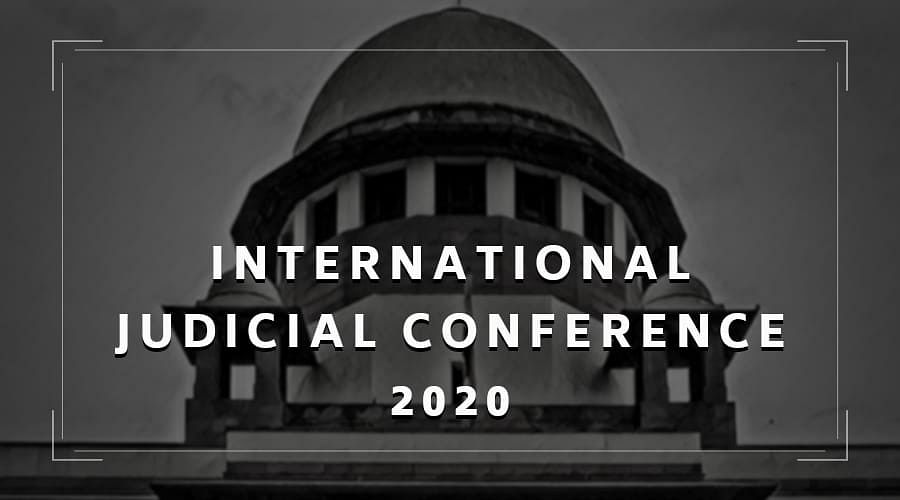 [LIVE UPDATES] International Judicial Conference, 2020
