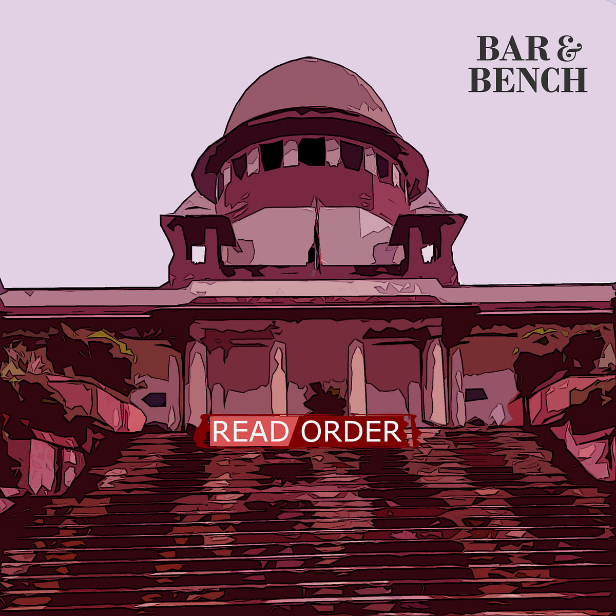 Supreme Court Read Order tall