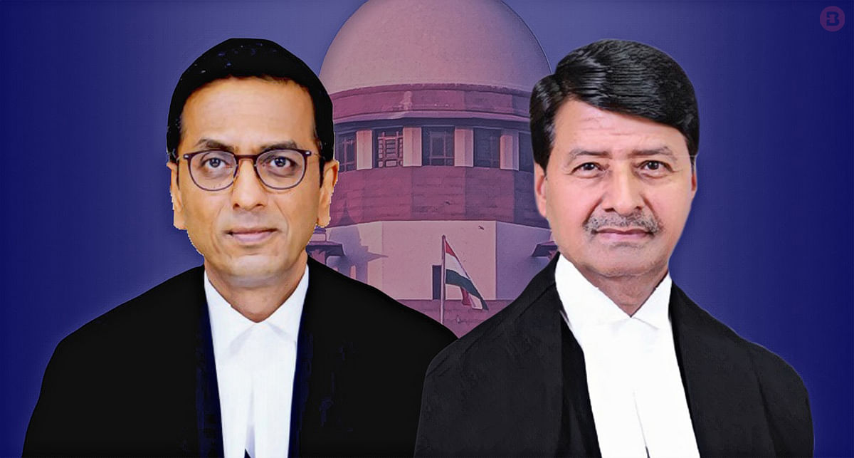 Justices DY Chandrachud and Ajay Rastogi