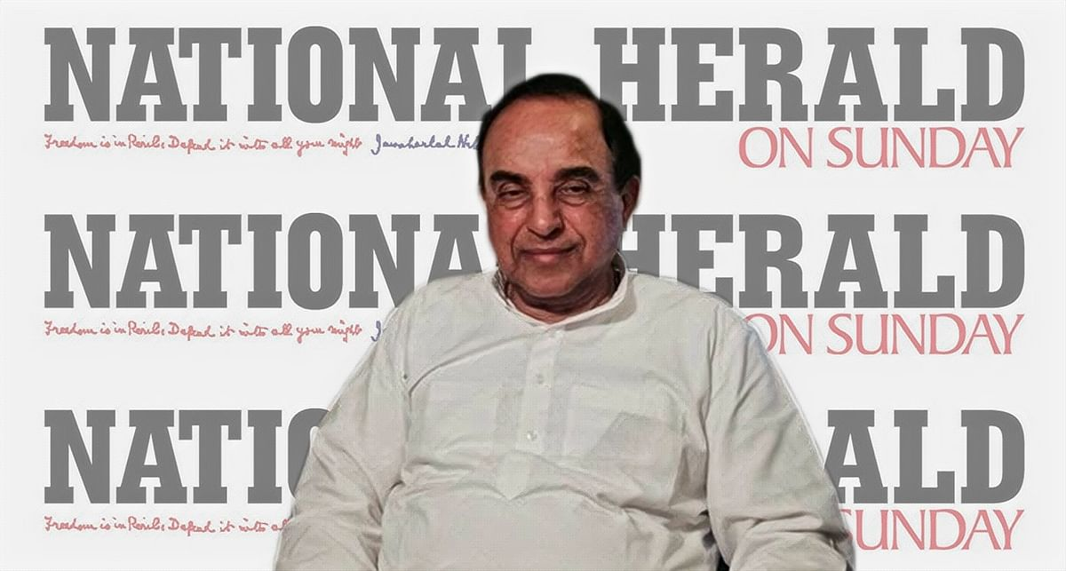 National Herald: No allegations of personal payment of benefits to Young Indian Directors, Subramanian Swamy