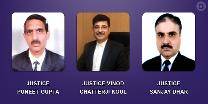SC Collegium recommends three Judicial Officers to be made judges of Jammu & Kashmir HC