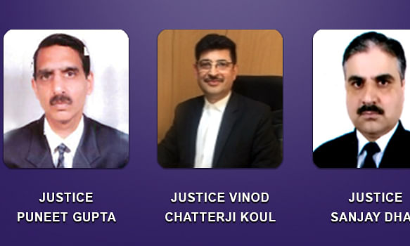 Centre clears appointment of three judicial officers as Judges of the common High Court for J&K and Ladakh