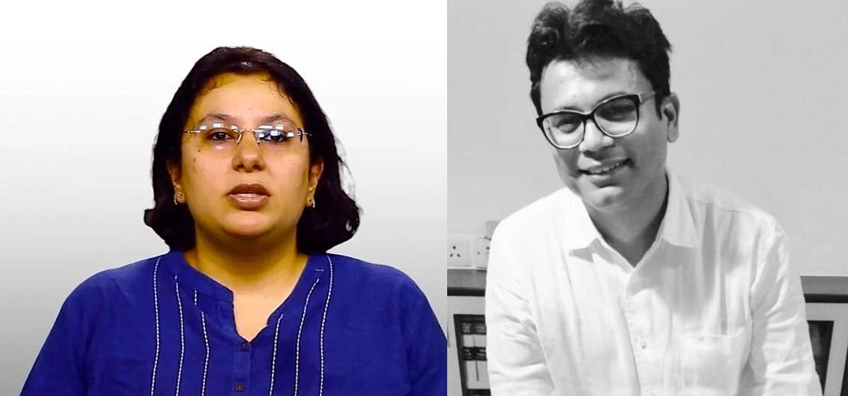 Suroor Mander (Left) and her Advocate Sanjoy Ghose
