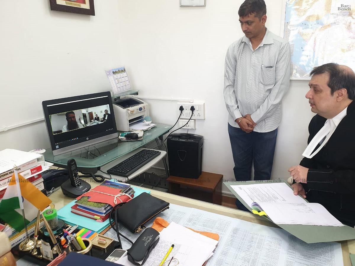 [Coronavirus] Gujarat High Court hears matters through video conferencing