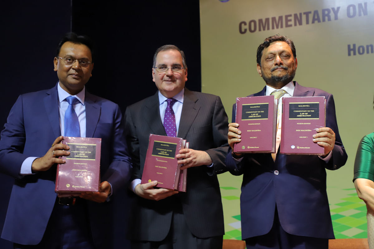 The book launch was presided over by Chief Justice of India, Justice SA Bobde and Union Minister of Law & Justice, Ravi Shankar Prasad
