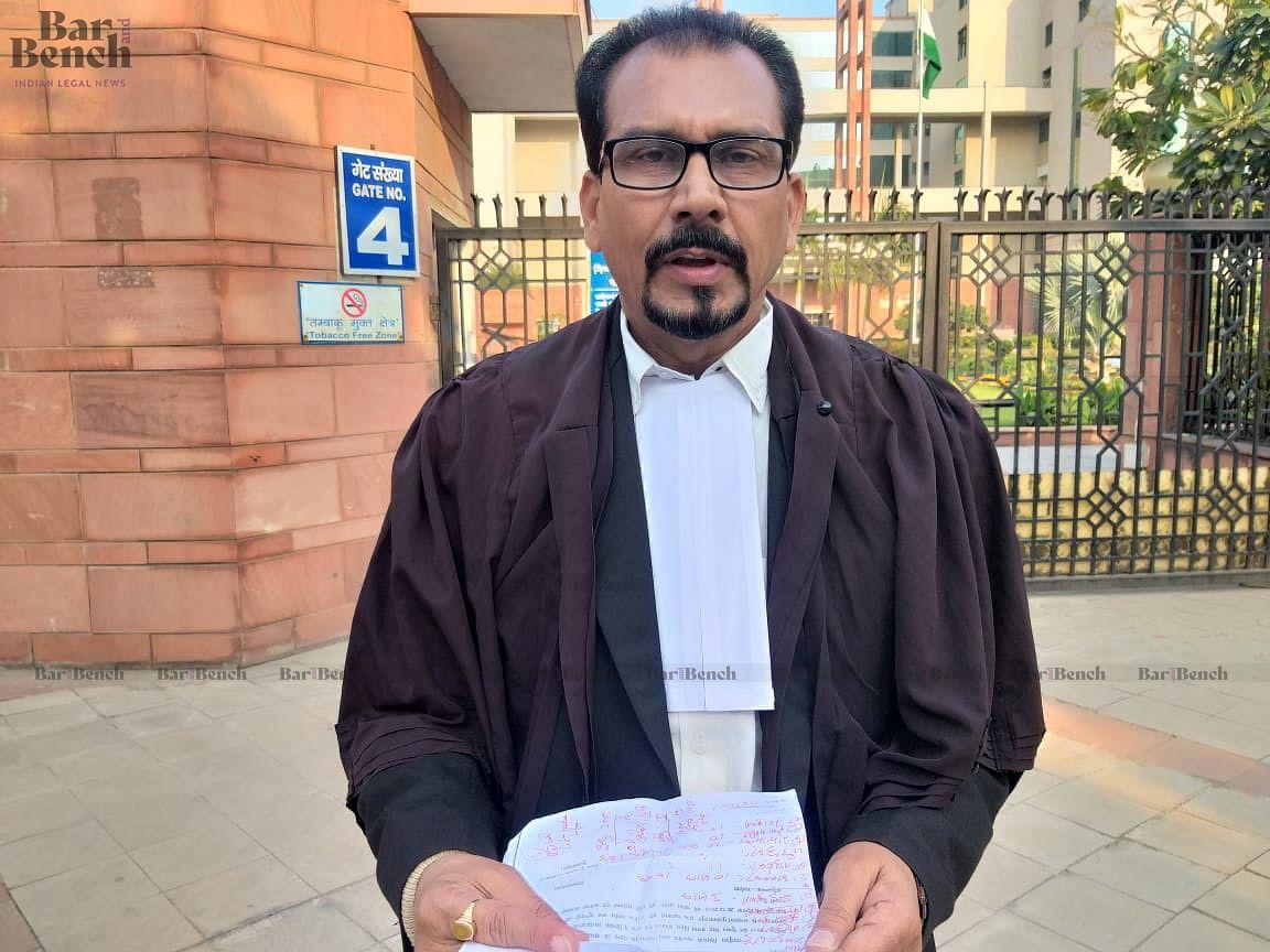 Sudheer Kumar Ojha, Complainant