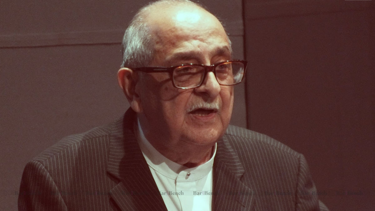 In Conversation with the living legend of law – Fali Sam Nariman