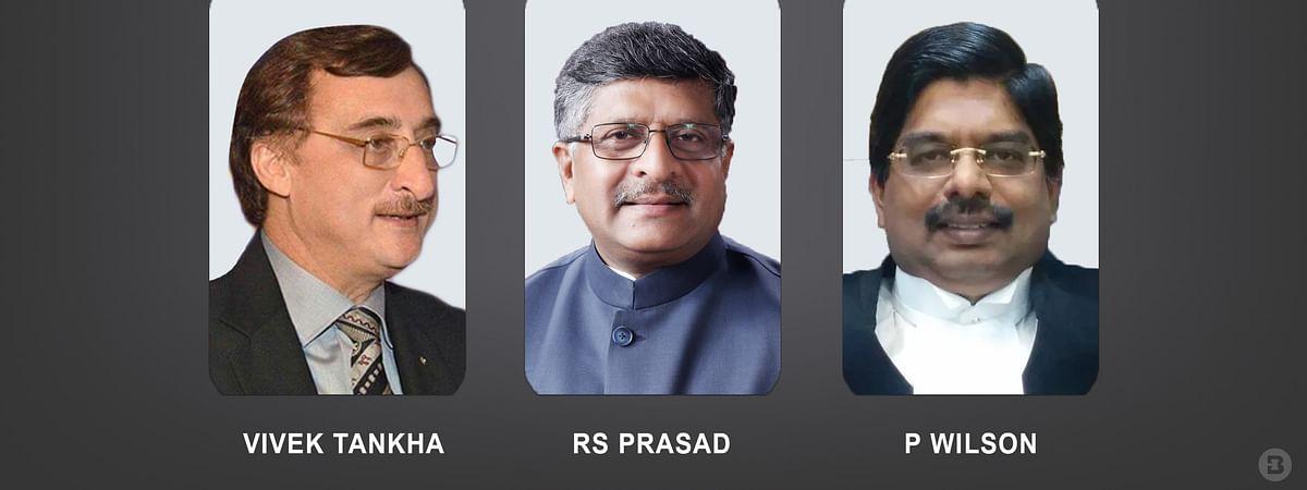 [Coronavirus] Law Minister RS Prasad, Senior Advocates Vivek Tankha, P Wilson contribute financial aid for relief efforts
