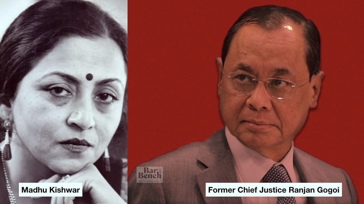 [BREAKING] Madhu Purnima Kishwar files PIL challenging nomination of Former CJI Ranjan Gogoi to Rajya Sabha [READ PETITION]