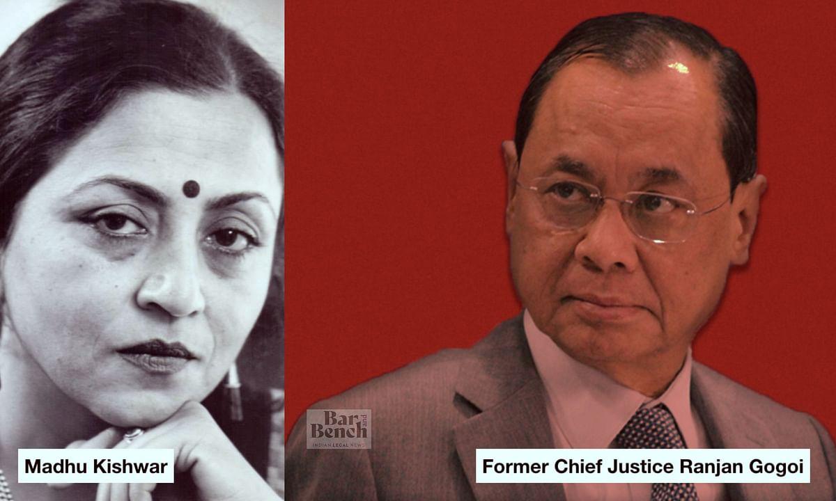 [BREAKING] Madhu Purnima Kishwar files PIL challenging nomination of Former CJI Ranjan Gogoi to Rajya Sabha [READ PETITION]