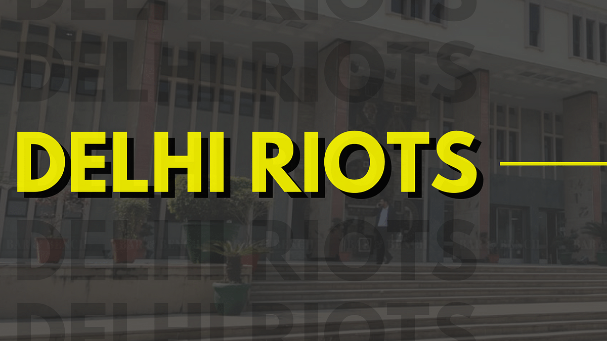 [Prosecutors in Delhi Riots Cases] Delhi High Court issues notice in plea moved by Delhi Prosecutors assailing the appointment of SPPs