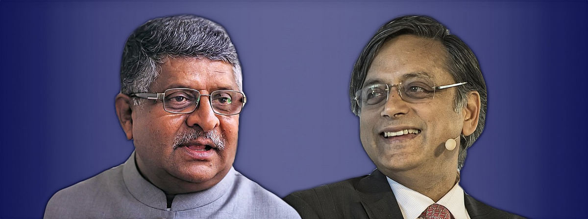Ravi Shankar Prasad unconditionally withdraws comment calling Shashi Tharoor a murder accused; Tharoor to withdraw defamation case
