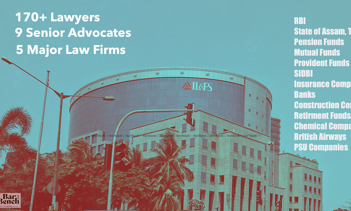 ILFS: 170 Lawyers, 9 Senior Advocates and 5 Top Law firms argue; NCLAT approves Centre's framework