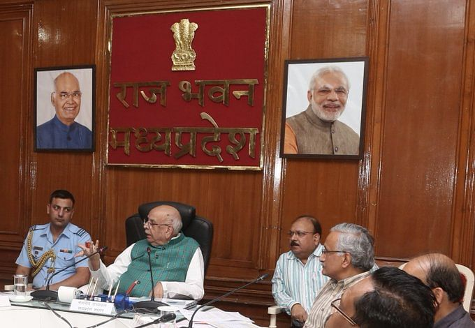 File photo: Governor of Madhya Pradesh