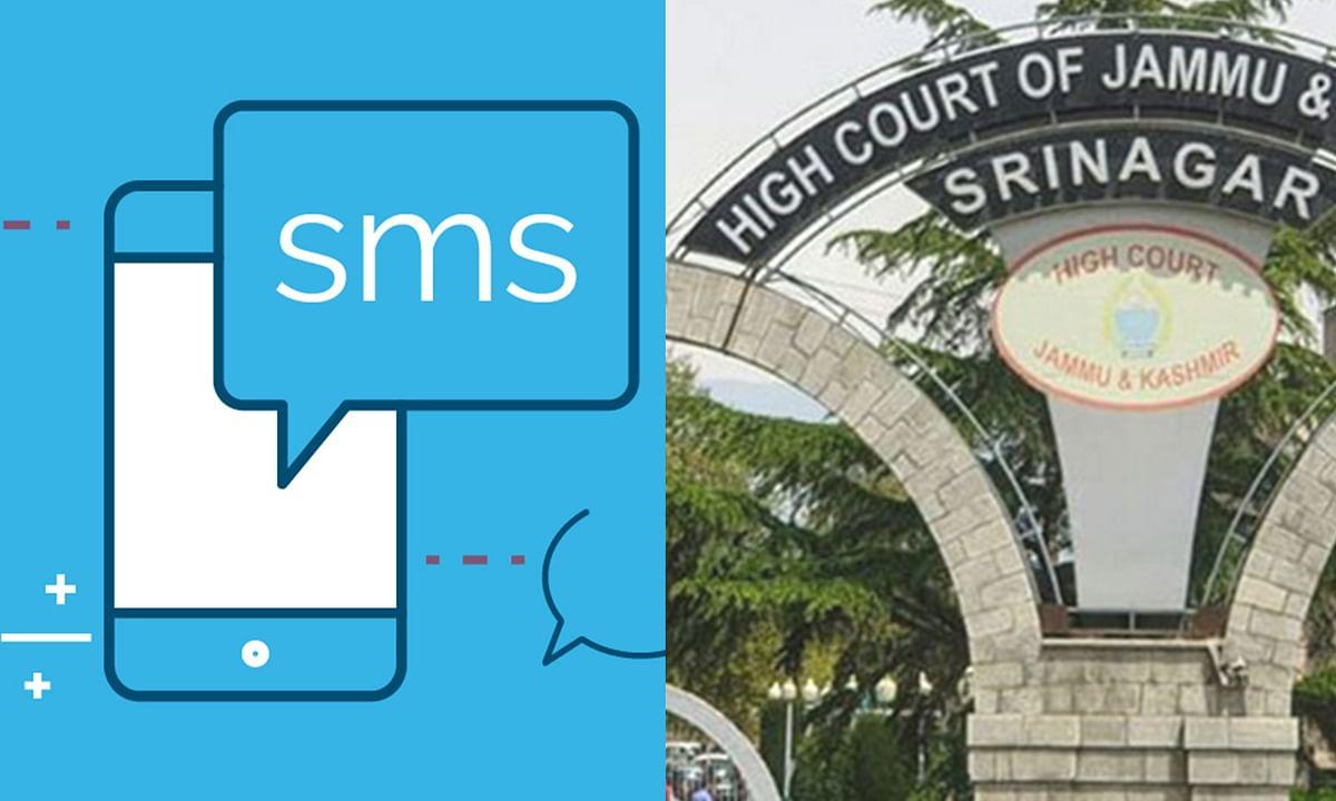 [Coronavirus] Jammu and Kashmir HC uses SMS to disseminate information, spread awareness among lawyers, litigants