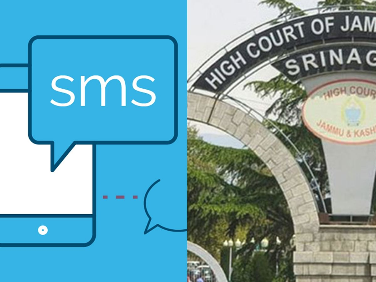 [Coronavirus] Jammu and Kashmir HC uses SMS to disseminate information, spread awareness among lawyers, litigants