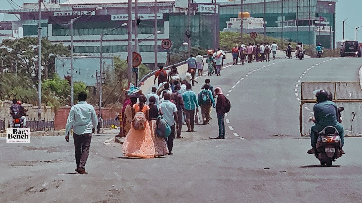 Coronavirus] Plight of migrant workers: Supreme Court asks Centre ...
