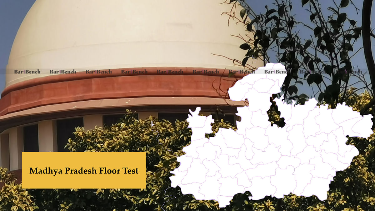 Madhya Pradesh Political Crisis: Supreme Court issues notice in plea for Floor Test, matter to be heard tomorrow