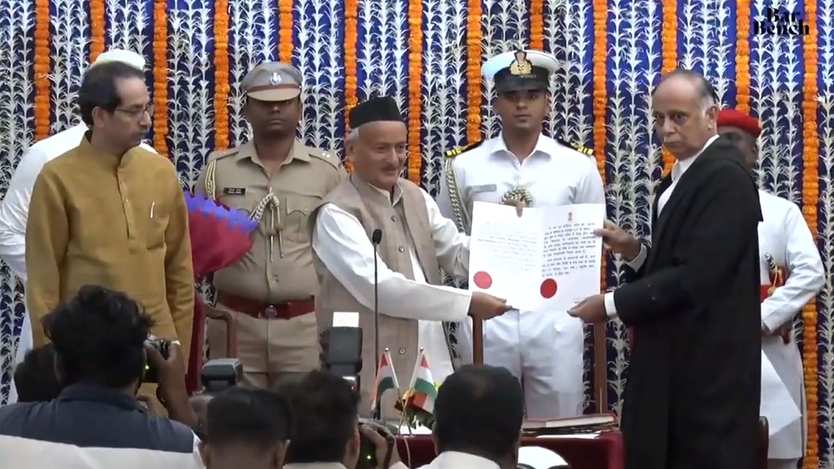Justice BP Dharmadhikari sworn in as Chief Justice of Bombay High Court [Watch Video]
