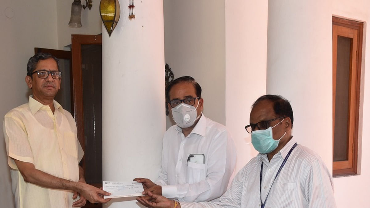 Supreme Court Judge Justice NV Ramana makes a contribution of Rs. 3,00,000 towards Relief Funds in the wake of COVID19 spread