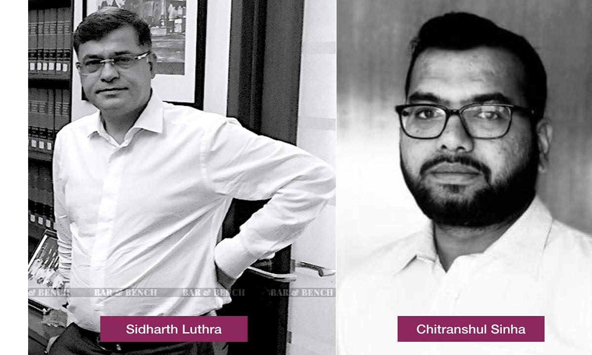 Sidharth Luthra and Chitranshul Sinha
