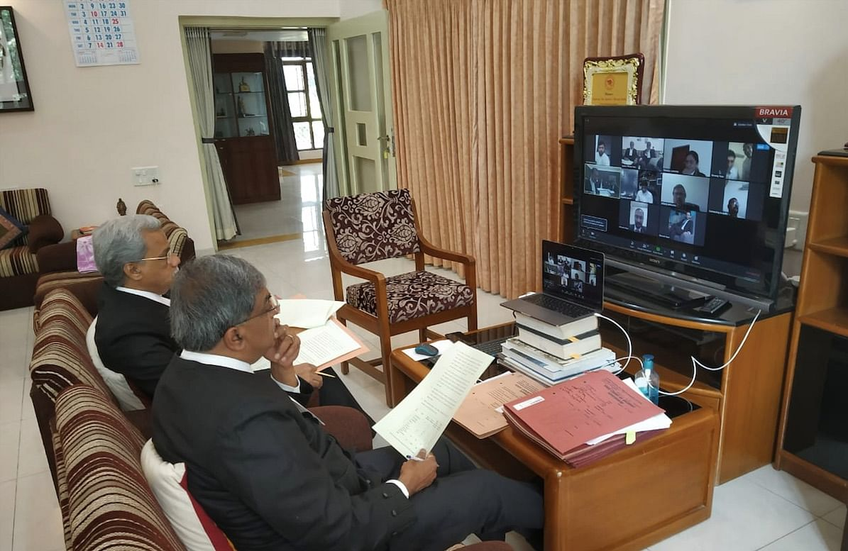 Gujarat High Court hears PILs on Coronavirus Lockdown relief via video conference [Watch Video]