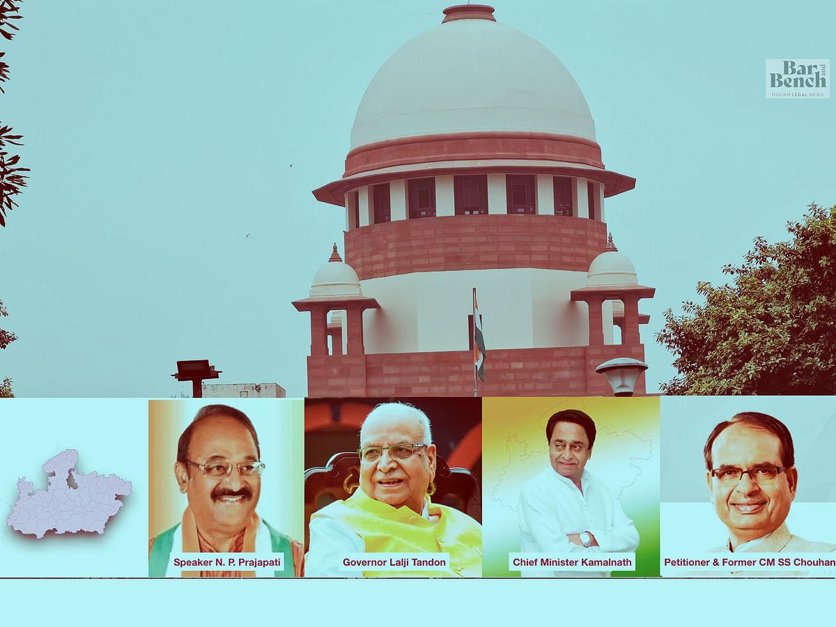 Governor must bear in mind that purpose of ordering trust vote is not to displace governments: SC on Madhya Pradesh Political Crisis