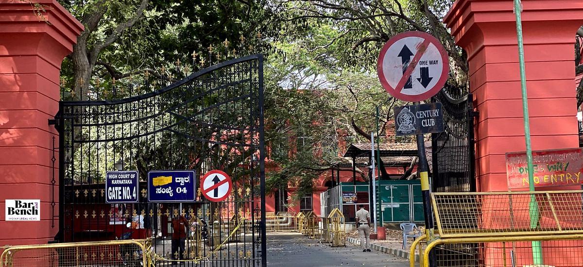 Coronavirus: Karnataka High Court bars entry of litigants, visitors