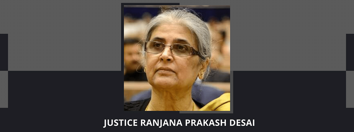 Justice (retd.) Ranjana Prakash Desai appointed to head Delimitation Commission set up for J&K, Assam, Arunachal Pradesh, Manipur, Nagaland