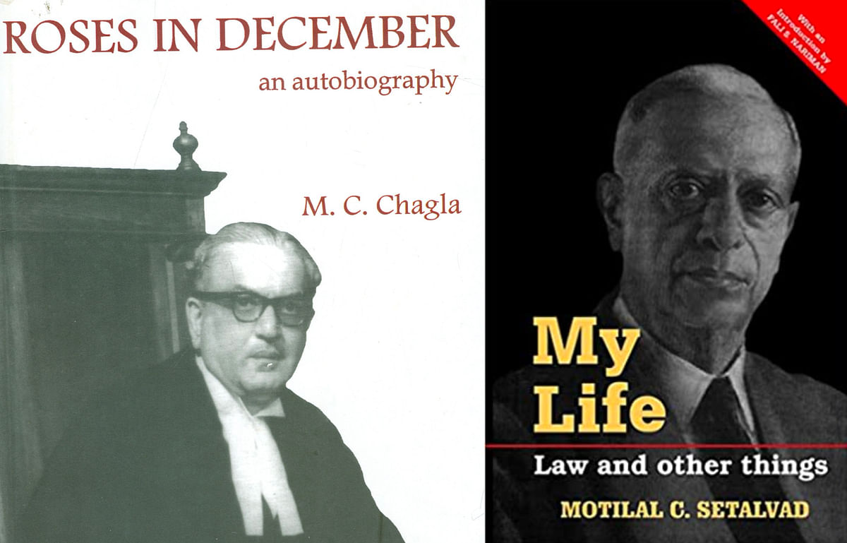 Autobiography of MC Chagla and MC Setalvad