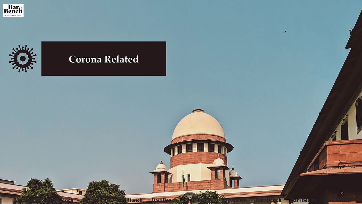 [COVID-19] SCBA urges CJI SA Bobde to resume normal functioning of Supreme Court