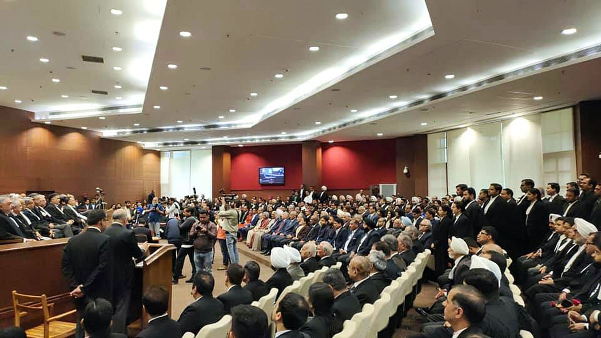 Oath ceremony of Justice Muralidhar