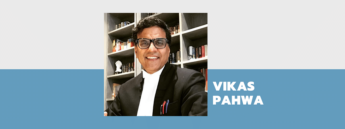 Senior Advocate Vikas Pahwa