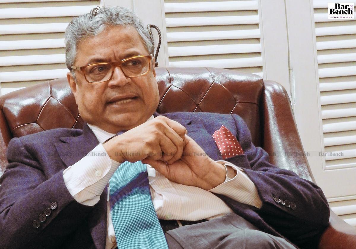 Senior Advocate Gopal Subramanium