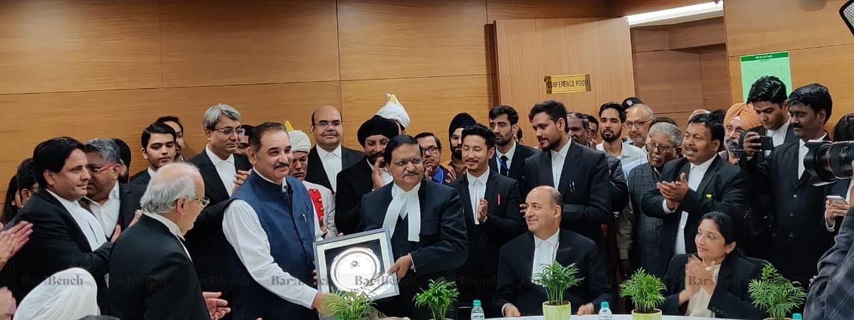 NCLT/AT Bar bids farewell to Justice SJ Mukhopadhaya