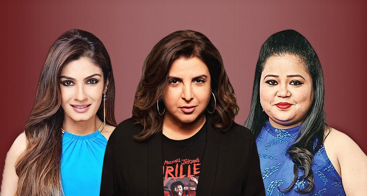 "HC gives interim relief to Raveena Tandon, Bharti Singh, Farah Khan in plea to quash FIR for hurting religious sentiments on ""Backbenchers"""