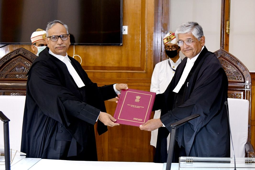 Justice Alok Singh sworn in as Judge of Allahabad High Court