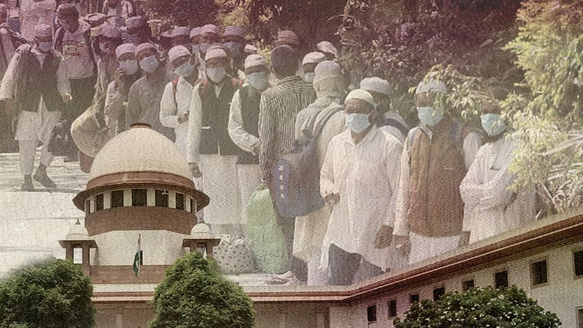 We cannot curb Freedom of Press, make Press Council of India a party: SC on Jamiat Ulema-e-Hind plea against communalization of Markaz Issue