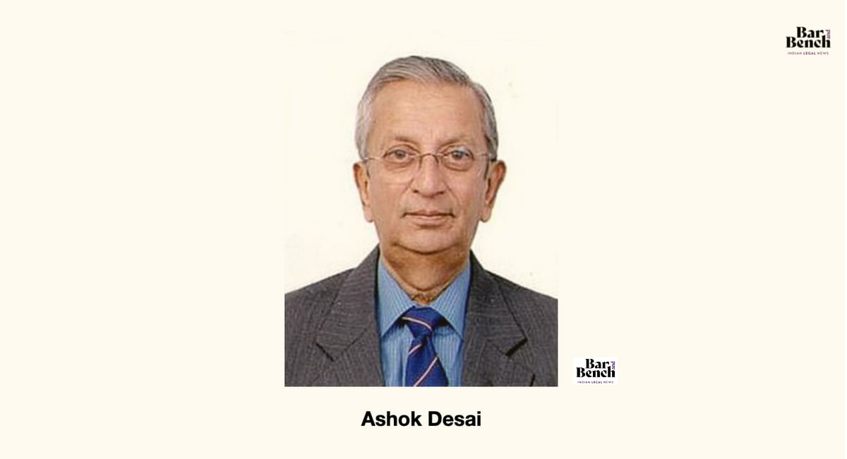 Of enormous preparation and perfect timing: Iqbal Chagla's tribute to Ashok Desai
