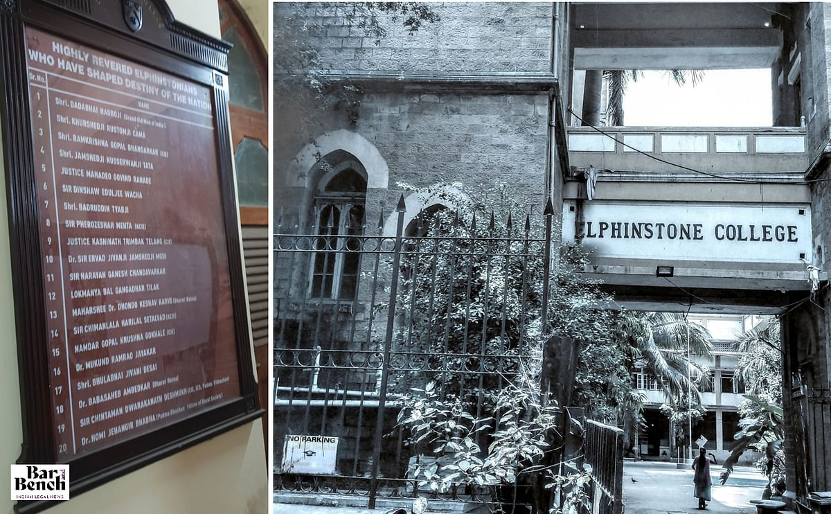 Elphinstone College and its famous Alumni