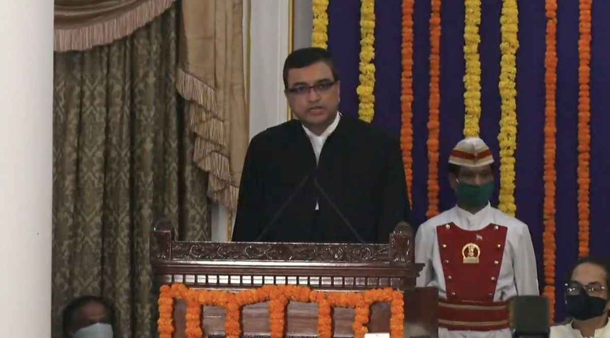 Bombay High Court's new Chief Justice takes the oath of office