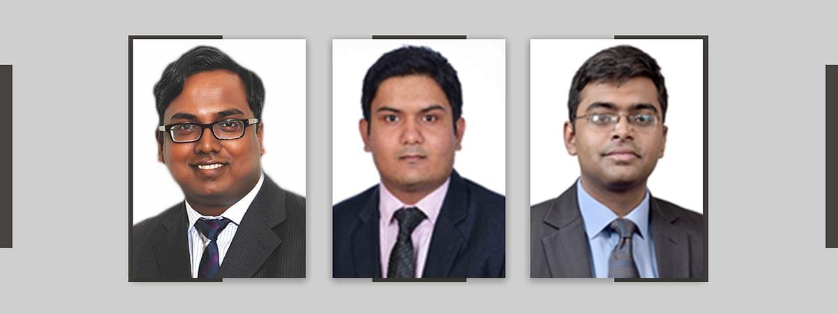 Ajay Shaw, Ashish Pahariya, Soham Mookherjee
