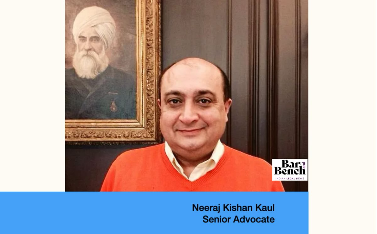 [In Camera] Style of advocacy will change; we have to get used to not interrupting each other: Neeraj Kishan Kaul [Video]
