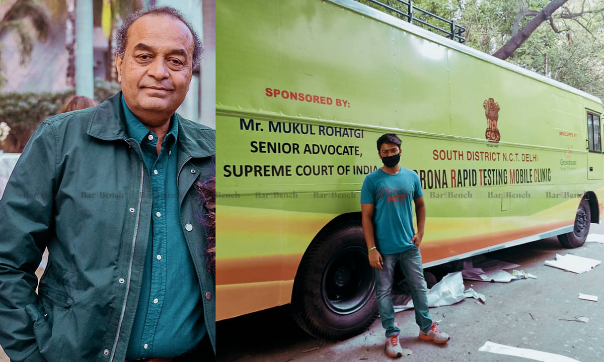 Time for lawyers to discharge their debt to the community by helping the COVID-19 cause: Senior Advocate Mukul Rohatgi