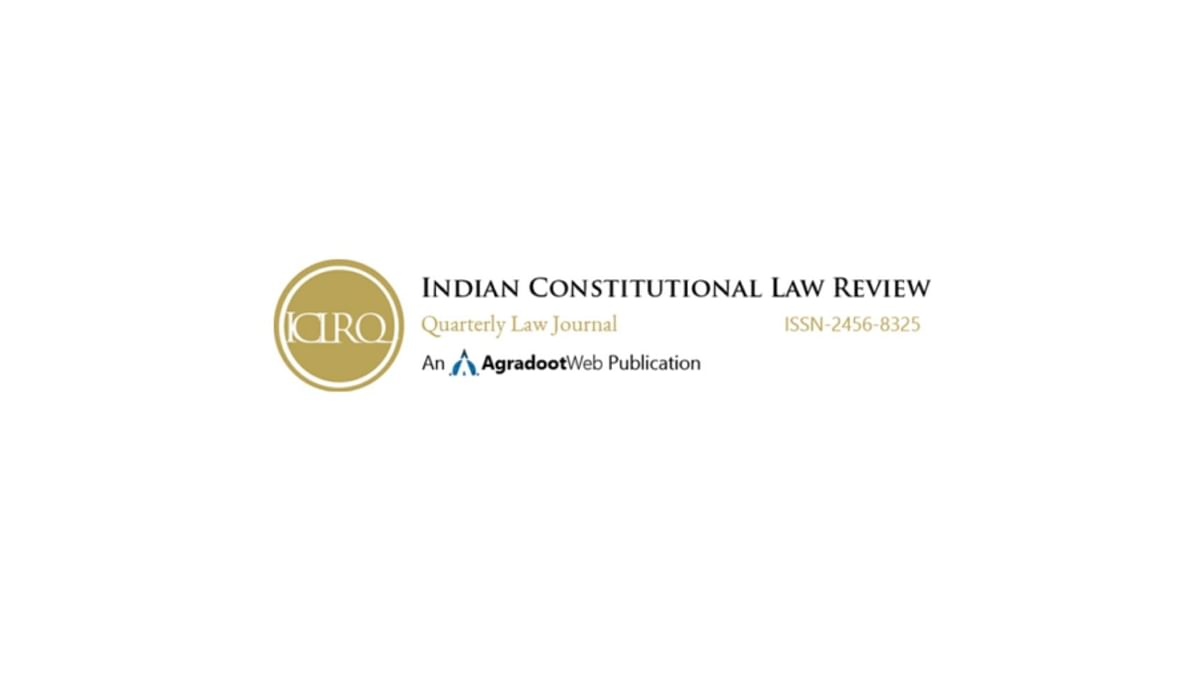 Call for Papers - Indian Constitutional Law Review - Volume X
