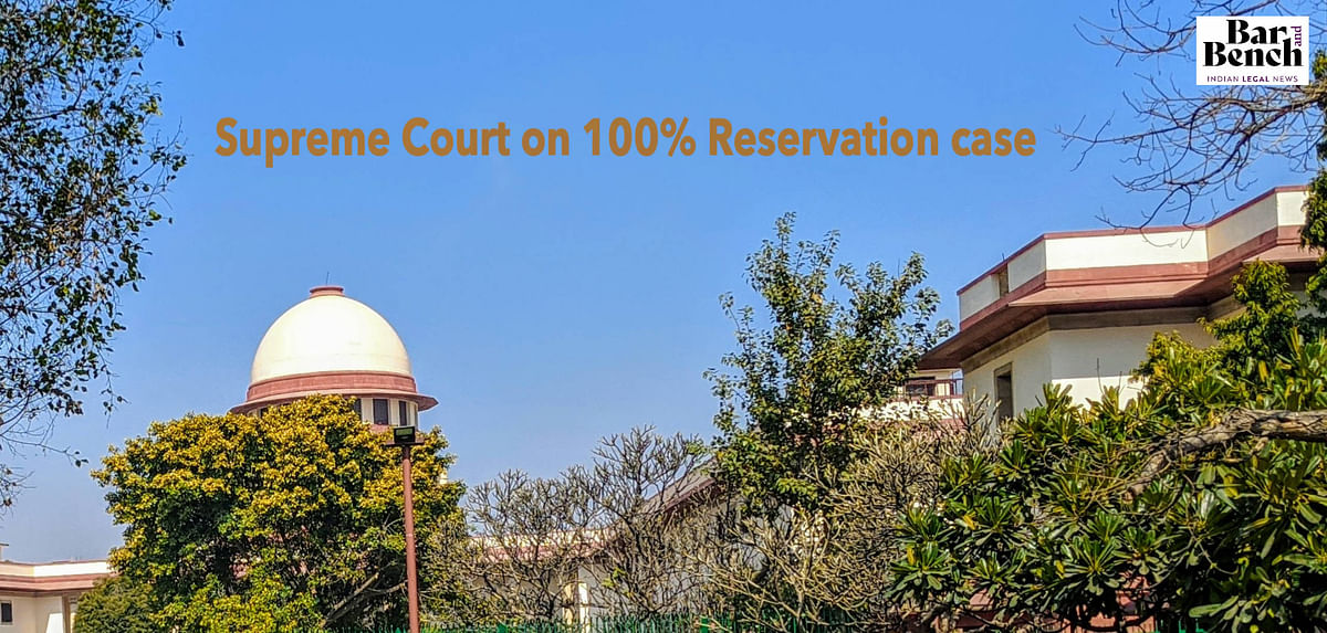 The 100% reservation judgment: Continuing confusion in India's Affirmative Action jurisprudence