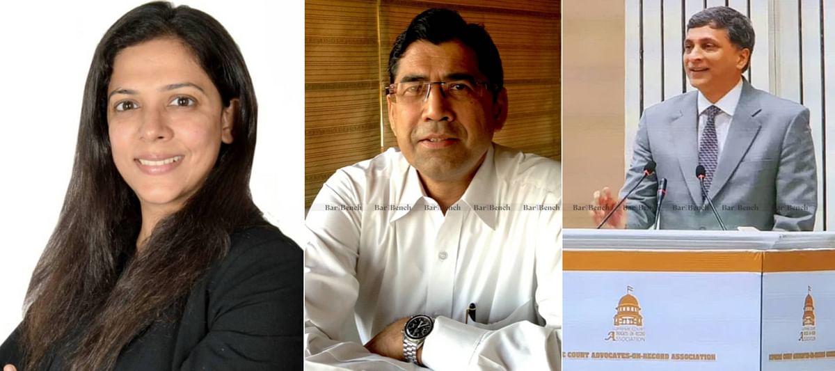 Malvika Kalra, Arvind Datar and Shyam Divan