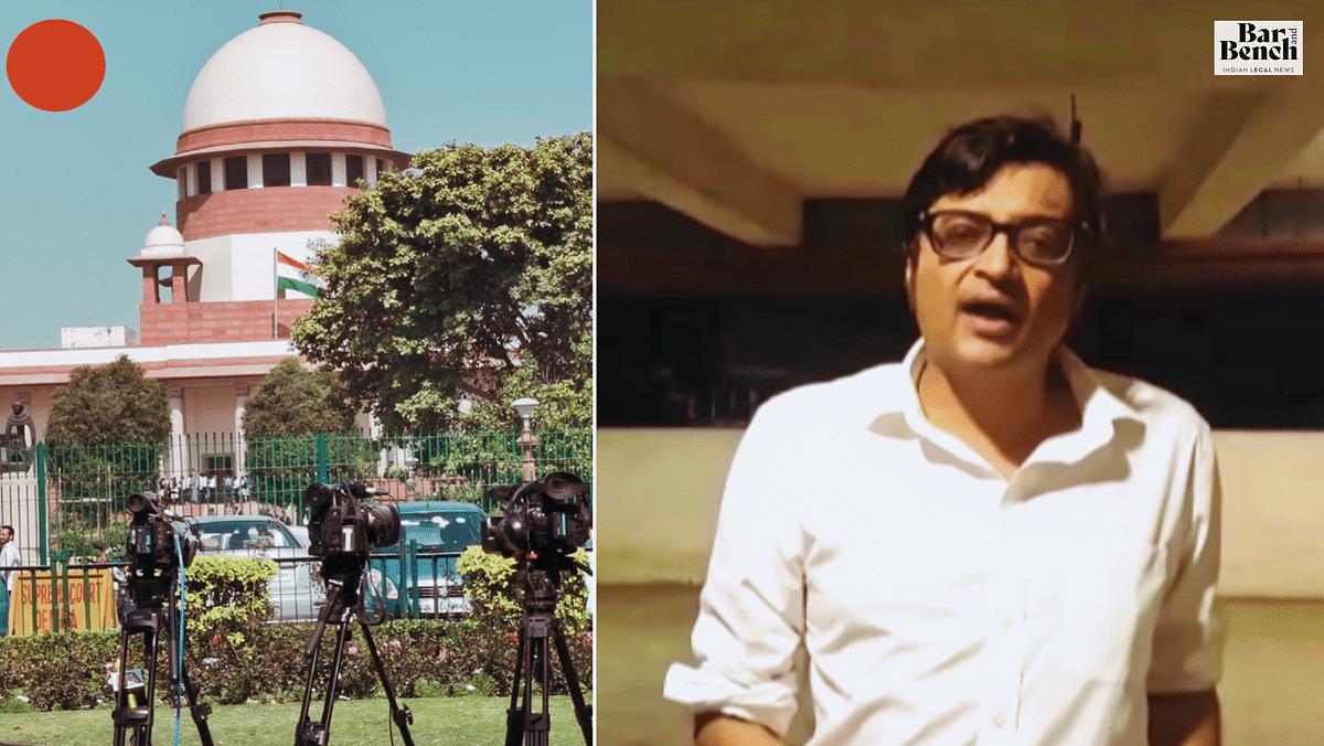 Supreme Court begins hearing Arnab Goswami Petition [Live Updates]