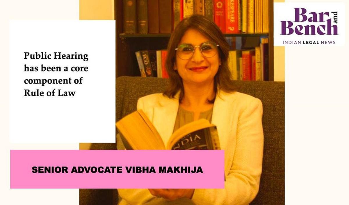 Senior Advocate Vibha Makhija