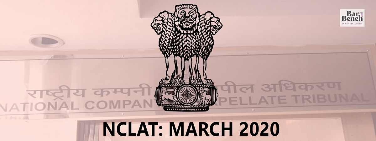 NCLAT March 2020